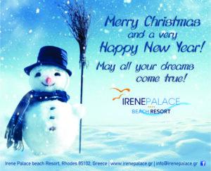 Happy Holidays - Irene Palace Beach Resort